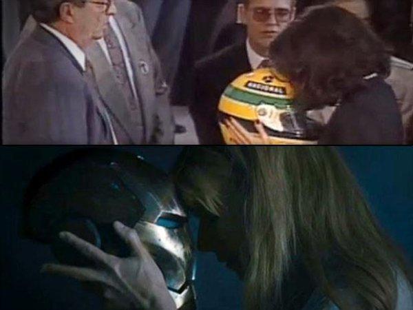 """Une scène de """"Iron Man 3"""" est basé sur l'enterrement d'Ayrton Senna"""