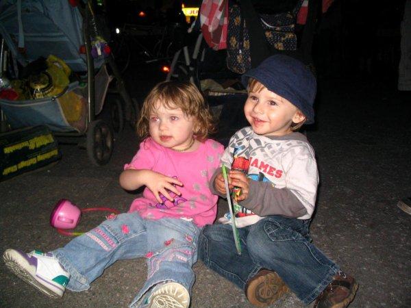 océanne et son cousin zachary au sud en fête