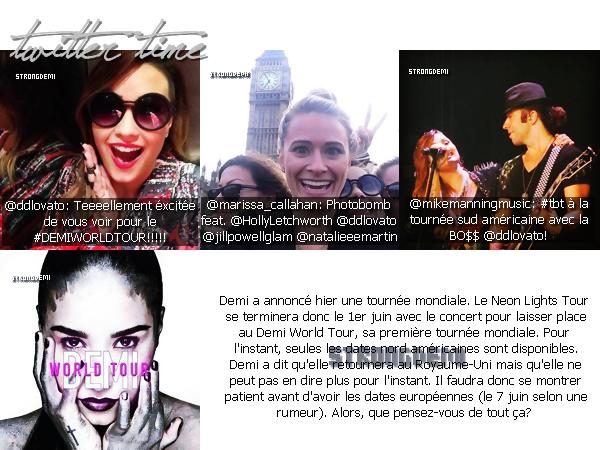 30.05.2014 - Demi a assisté à l'émission This Morning.