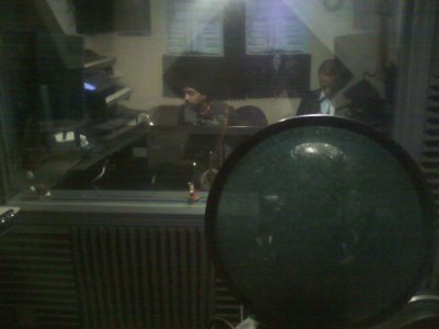 In The Studio (were the majic happens LOL)