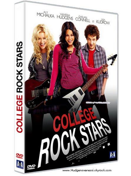 """Photos HUDGENSVANESSI.SKYBLOG.COM  Voici la couverture du DVD """"College Rock Stars"""" dévoilée sur le site de la fnac. Celle-ci devrait normalement être la bonne. Il sortira normalement le 16 Décembre. C'est un beau cadeau a demander au """"Père Noël"""" ça, Non ? 8-p. Comment as tu trouvé Bandslam ? Vas tu l'acheter ?      Ton avis ?"""