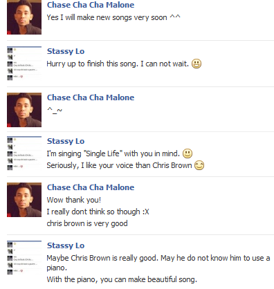 Discutions entre Moi & Chase Cha Cha Malone ( AOM )  :D