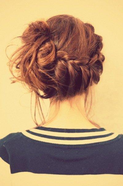 Coiffure trop belle <3 *0* #Clara.L