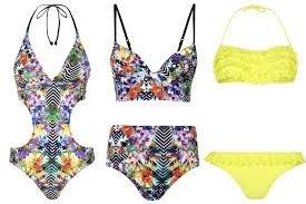 Les maillot de bain avec des imprimés pour cet été!! Parfait! #Clara L.