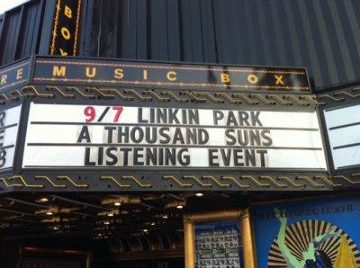 Ecoute de l'album le 07/09 à L.A.