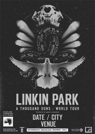 LINKIN PARK - Ultimes dernières places / Mise en Vente demain à 10h