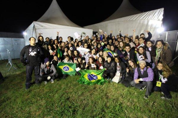 Concert à Sao Polo le 11/10
