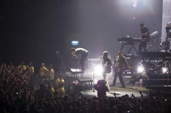 Concert à Manchester le 04/11/2010