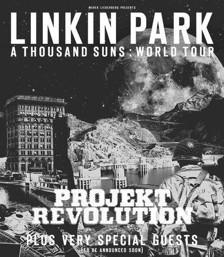 Nouvelles dates - Projekt Revolution en Allemagne
