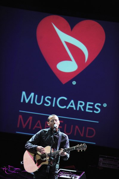 """Chester """"7th annual MusiCares MAP Fund Benefit"""""""