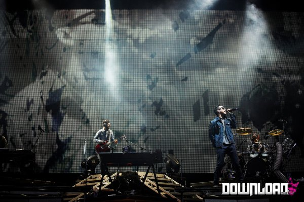 Concert à Donington, UK [Download Festival] le 12/06/2011