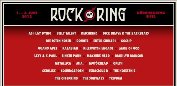Linkin Park revient en Europe pour l'été 2012