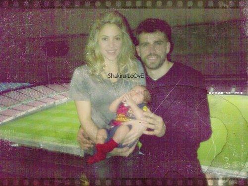 Shakira, Piqué & Milan !