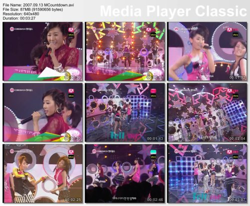 2007.09.13 Wonder Girls - Tell Me MCountdown