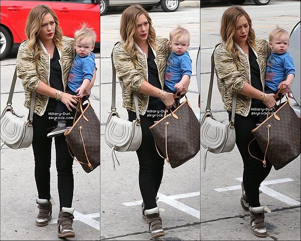03/03/13 La famille Duff a était vue faisant du shopping dans West Hollywood.