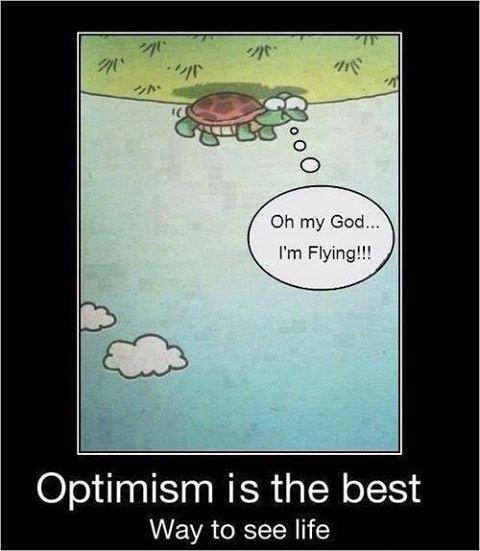 L'optimisme !