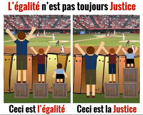 La justice, une notion pas si simple !