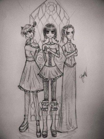 3 filles qui ont l'air d'être fait pour s'entendre... ;) ( 2013)
