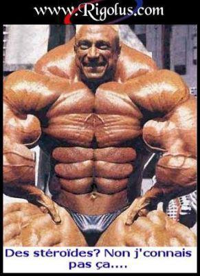 image de l'homme le plus muscle du monde
