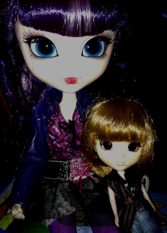 1ere photos d'Azilys et Evana