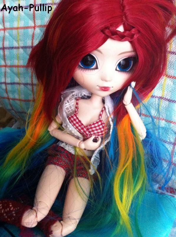 Nouvelle wig pour Azilys !