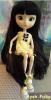 Clémentine avec sa wig noire