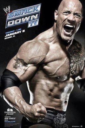 THE ROCK A SMACKDOWN !!!