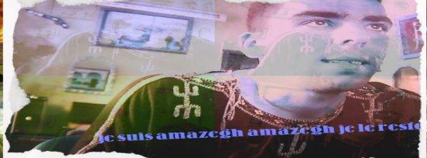 Ecoutez-moi!! Je suis amazigh pas
