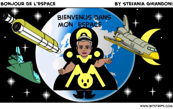 Bonjour de l'espace