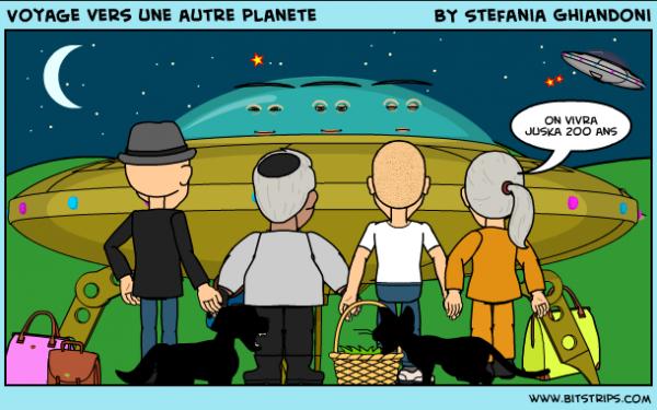 Voyage vers une autre planète