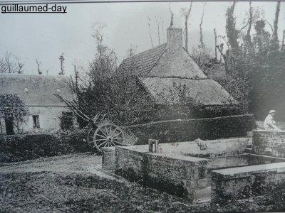 Le lavoir avant la guerre