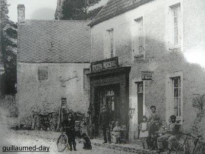 L'épicerie de Colleville avant la guerre