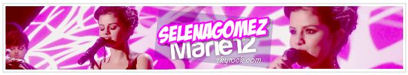 Bienvenue sur ta nouvel source d'actue sur ta belle et talentueuse Selena Gomez