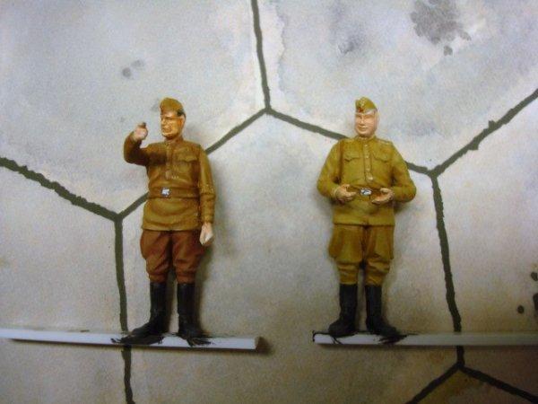 les figurines qui vont avec le FW 190....