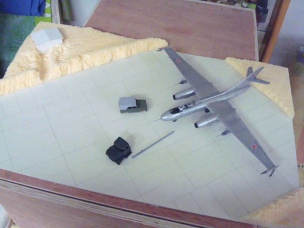 yak 25 mandrake...et son diorama.