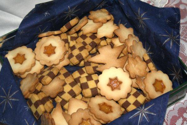 Une partie de mes biscuits de noel