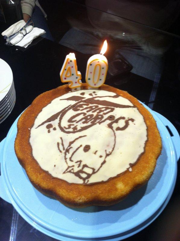 Gâteau Pour Mon Anniversaire Par Amour De La Peche A La Carpe