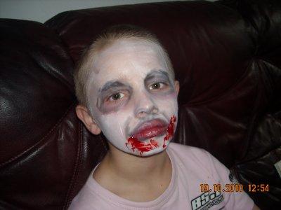 mon garçon en mode maquillage
