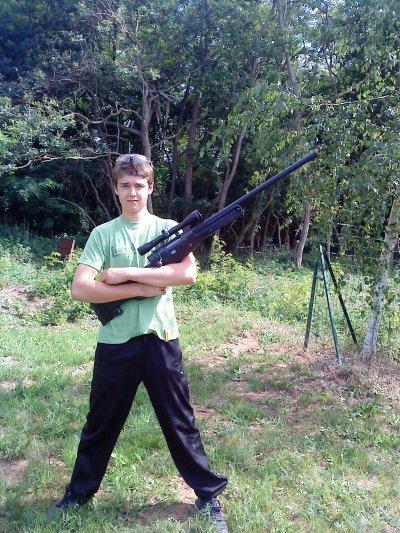 Léo sniper de l'équipe  !!