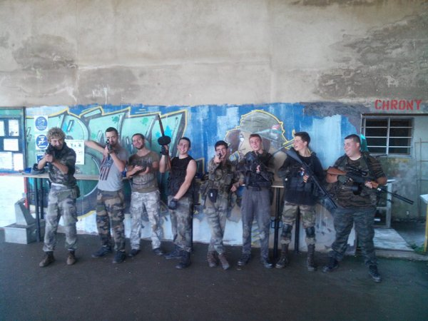 super partis a lit paintball c était top !!!!