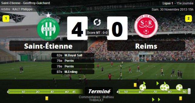 • Saint-Étienne puissant, Lille fait le travail, Lorient souffle, Nice et Sochaux au fond du gouffre !