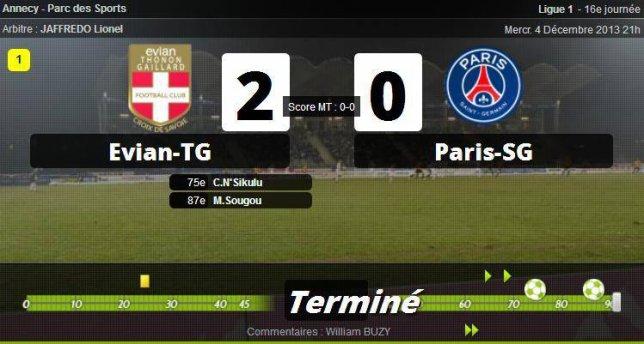 • Évian arrête Paris !