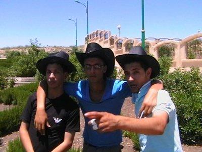 Moi et mes amis dans la ville de Sétif