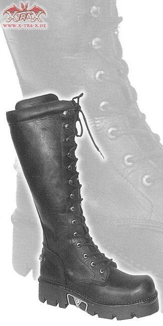 New Rock Boot Black Toxic Trooper