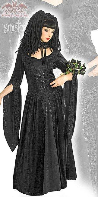 Sinister Velvet Dress Medivial Damsel