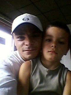 moi et mon ptit homme lorenzo (jtm mon fils)