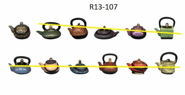 R13-107 THEIERES DU MONDE