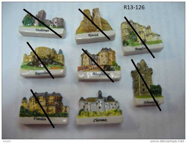 R13-126 CHATEAUX DU LUXEMBOURG