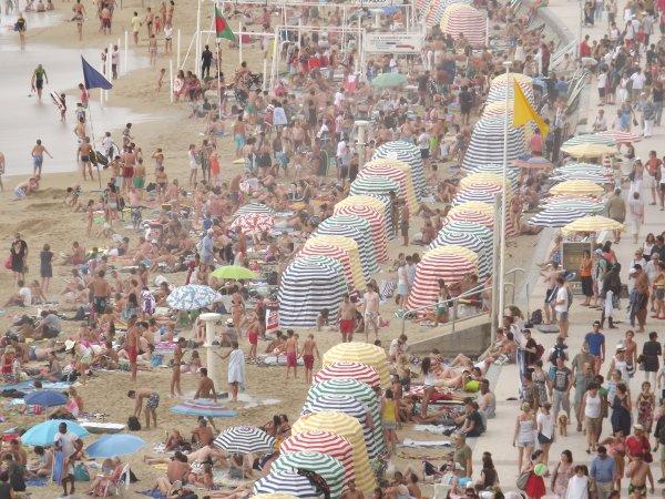 La Plage De Biarritz...Août 2012