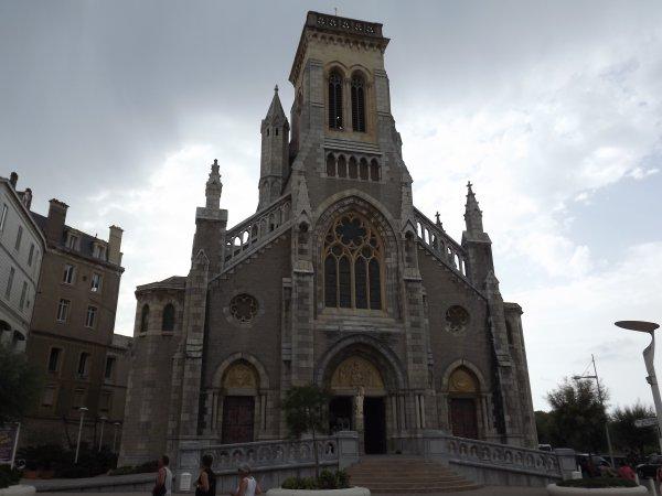 Eglise Saint Eugenie....Biarritz